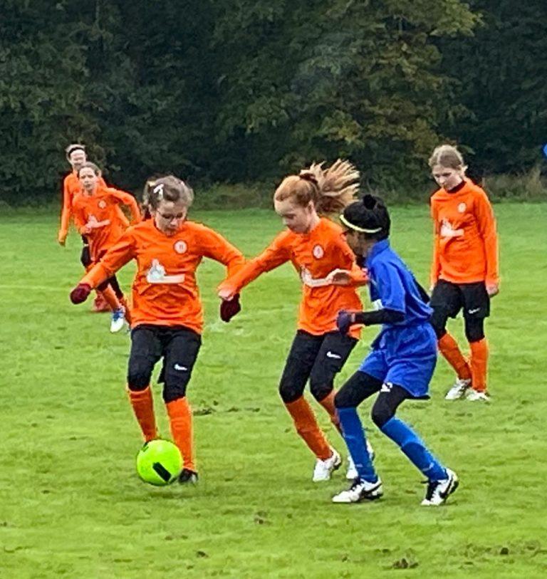 U12s girls v GNG Juniors - Match photo 1