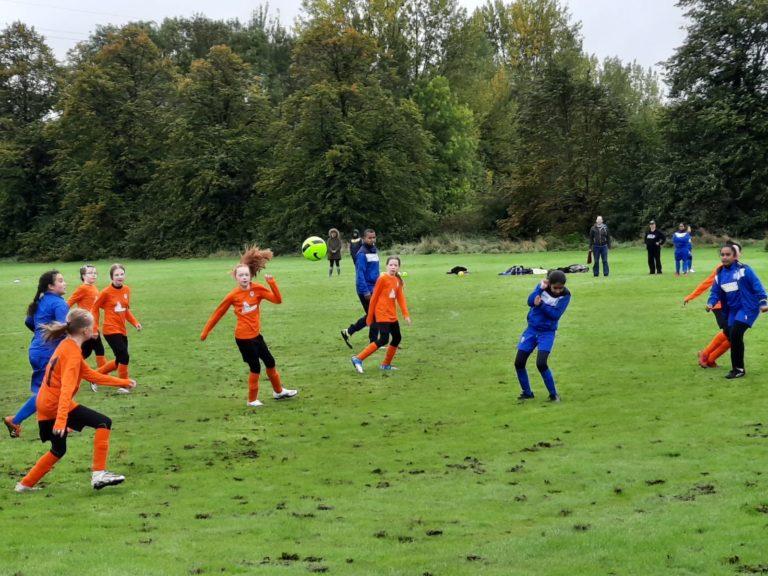 U12s girls v GNG Juniors - Match photo 17