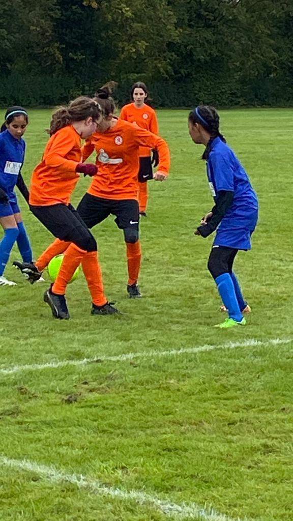 U12s girls v GNG Juniors - Match photo 6