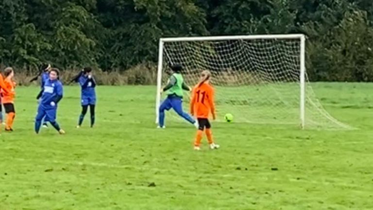 U12s girls v GNG Juniors - Match photo 9