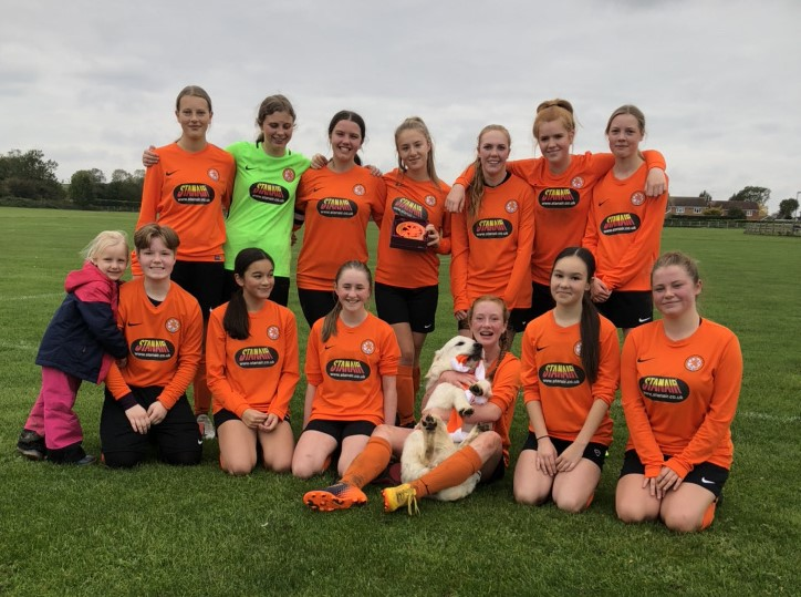 U9 Girls kick off their 2020/21 season | Rugby Borough FC