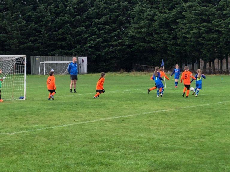 U9 Girls v Croft Juniors - Match photo 10