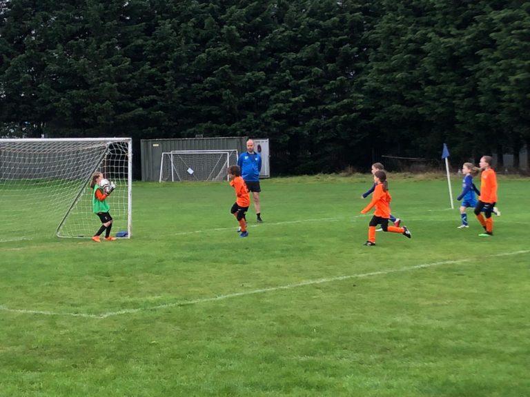 U9 Girls v Croft Juniors - Match photo 11