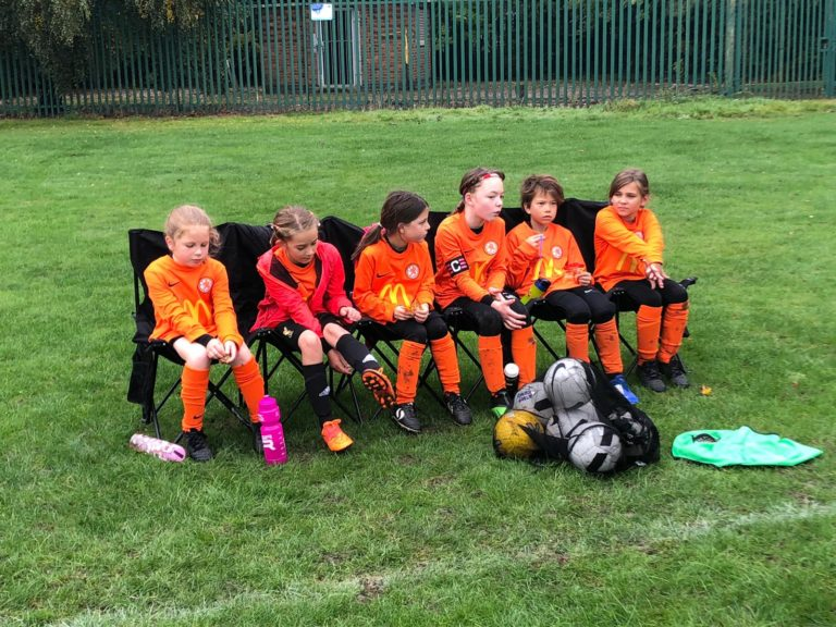 U9 Girls v Croft Juniors - Match photo 13