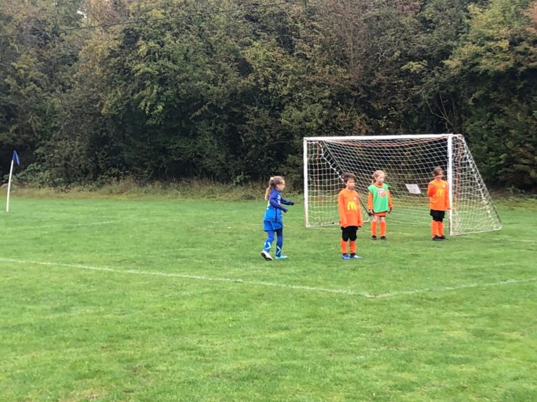 U9 Girls v Croft Juniors - Match photo 4