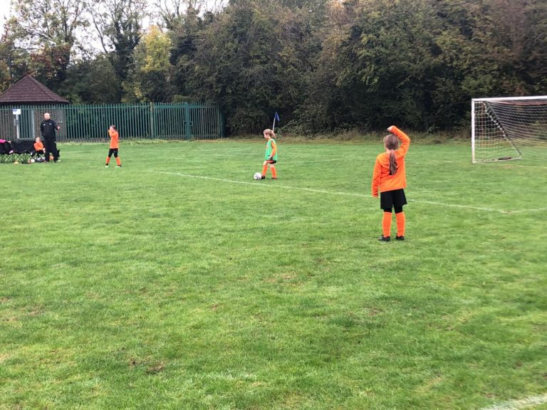 U9 Girls v Croft Juniors - Match photo 5