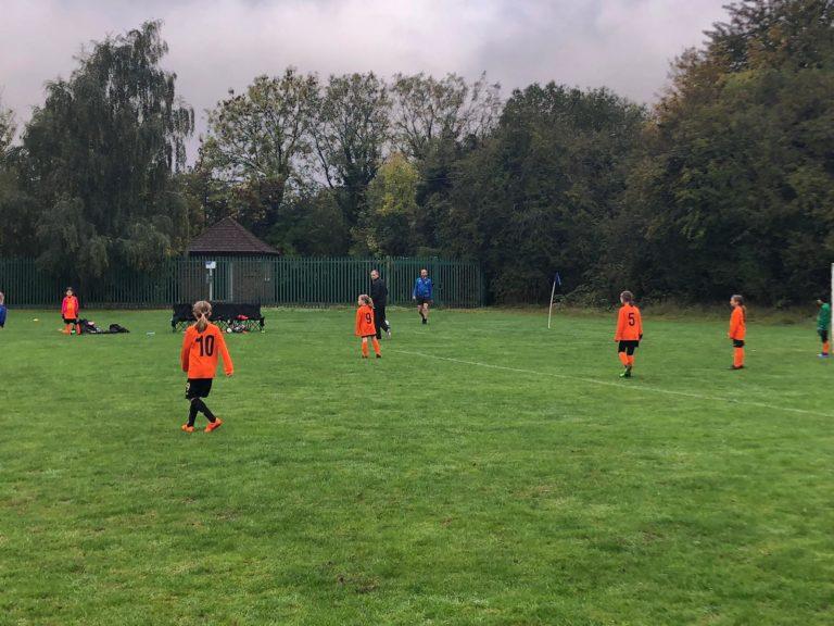 U9 Girls v Croft Juniors - Match photo 7