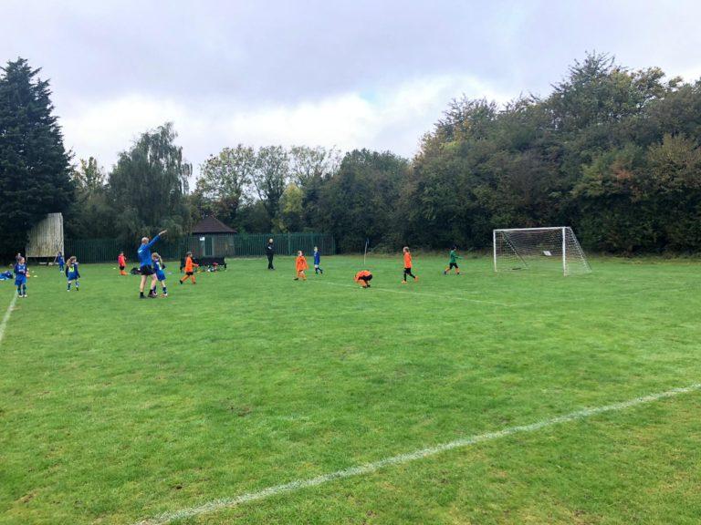 U9 Girls v Croft Juniors - Match photo 8