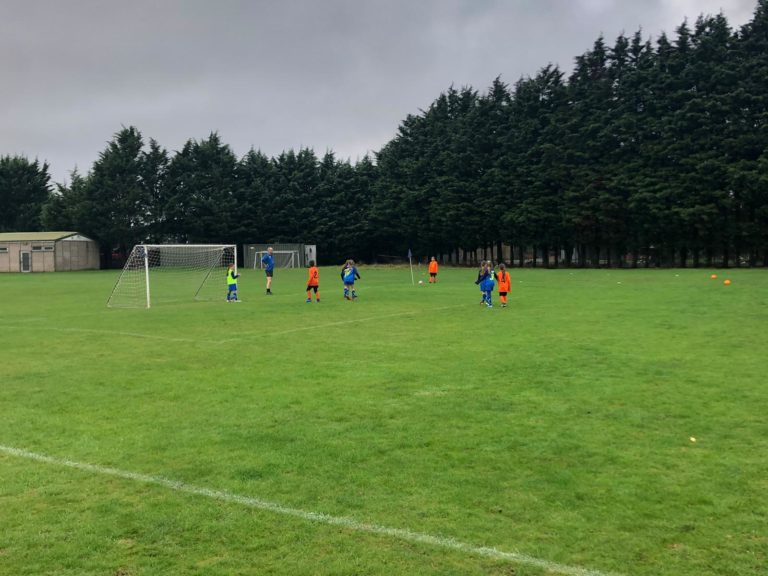 U9 Girls v Croft Juniors - Match photo 9