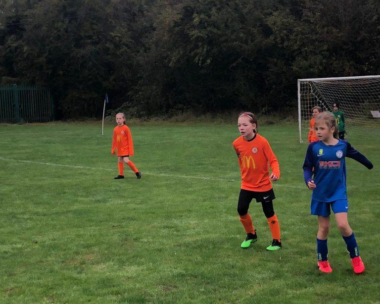 U9 Girls v Croft Juniors - Match photo