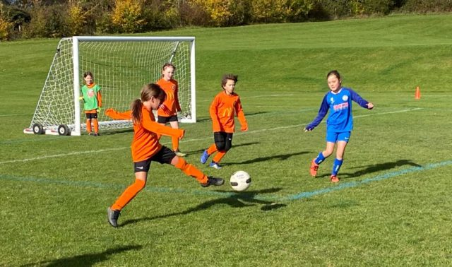 Under 9 Girls v Croft - match photo - 9