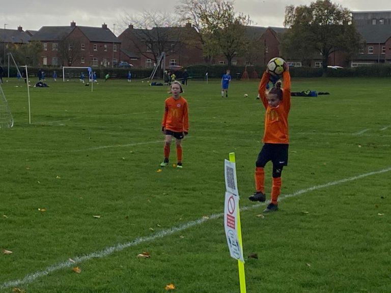 Rugby Borough U9 Girls v Blaby - Match photo 11