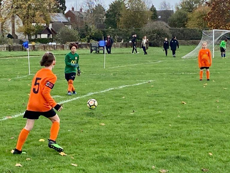Rugby Borough U9 Girls v Blaby - Match photo 4