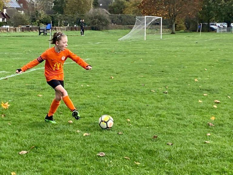 Rugby Borough U9 Girls v Blaby - Match photo 5
