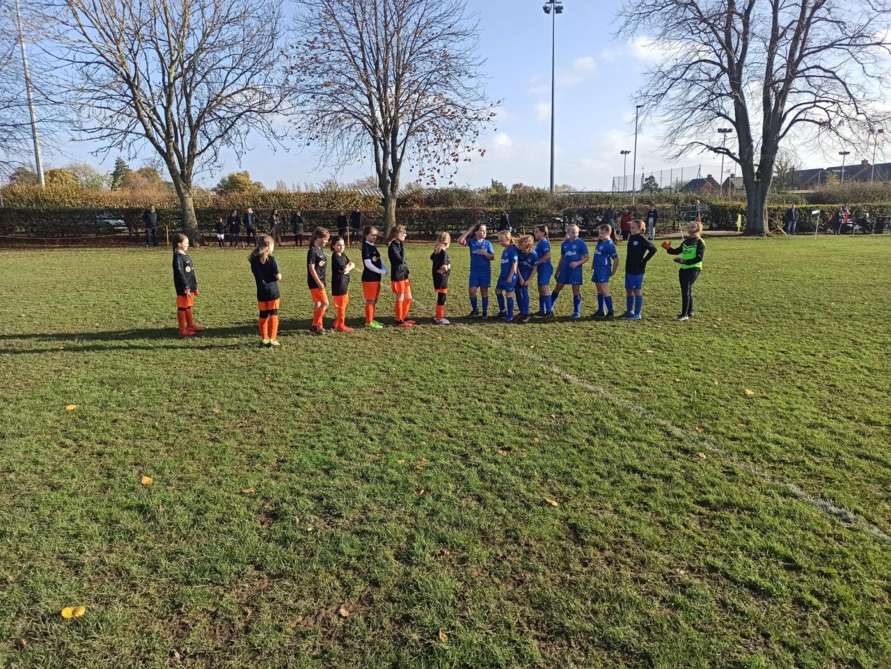 U10 Girls v Blaby & Whetstone | Rugby Borough FC