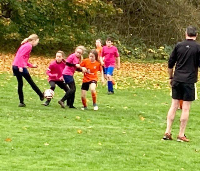 U12 Girls vs Groby - match photo 10