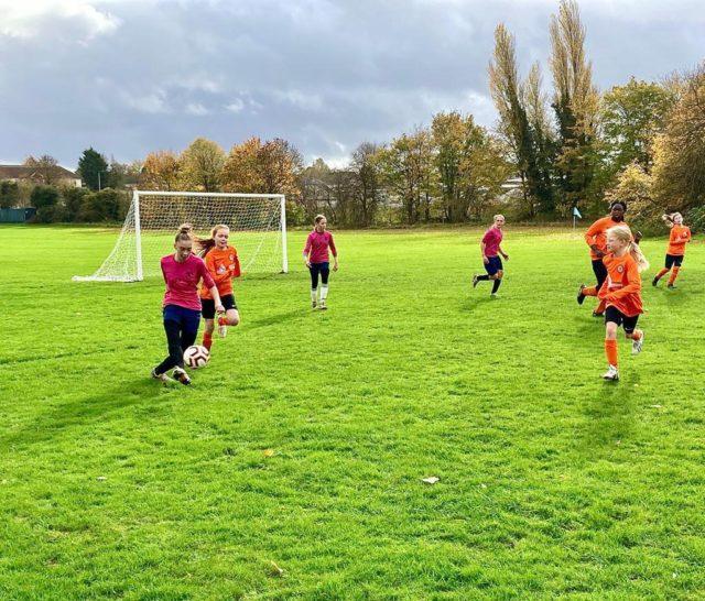 U12 Girls vs Groby - match photo 13