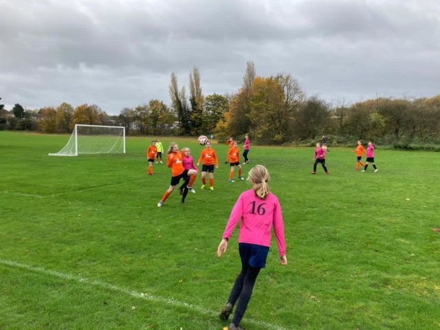 U12 Girls vs Groby - match photo 14
