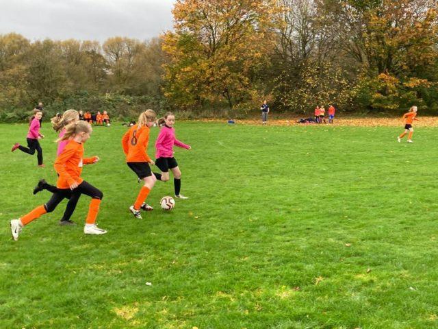 U12 Girls vs Groby - match photo 2