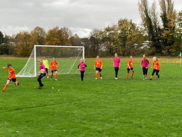 U12 Girls vs Groby - match photo 3
