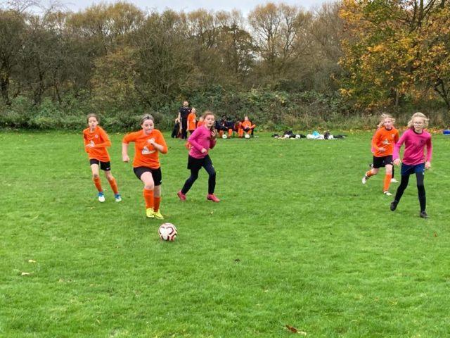 U12 Girls vs Groby - match photo 4