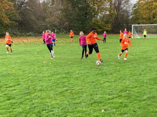 U12 Girls vs Groby - match photo 6