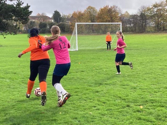 U12 Girls vs Groby - match photo 7