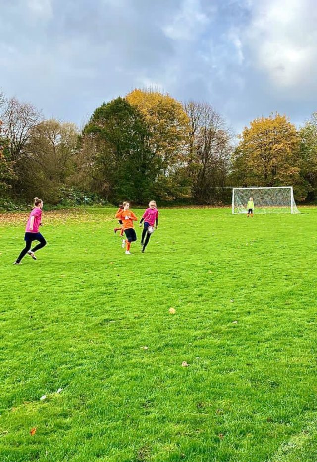 U12 Girls vs Groby - match photo 9