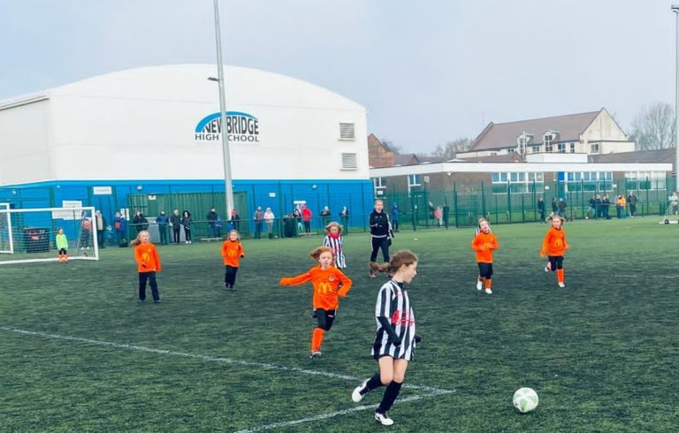 Coalville Ravenettes v Rugby Borough U8 girls - Match photo - 4
