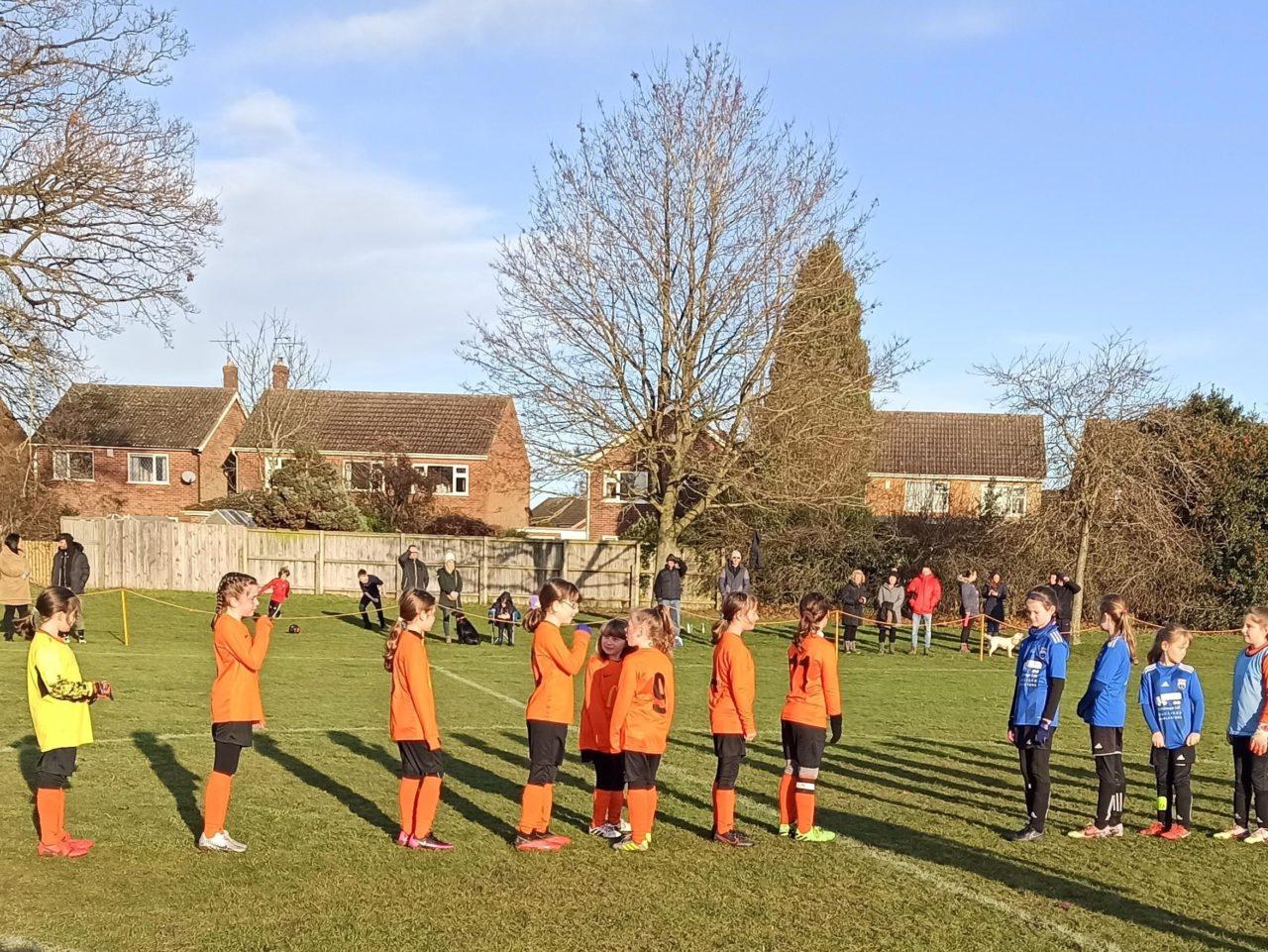 U10 Girls v Market Bosworth | Rugby Borough FC