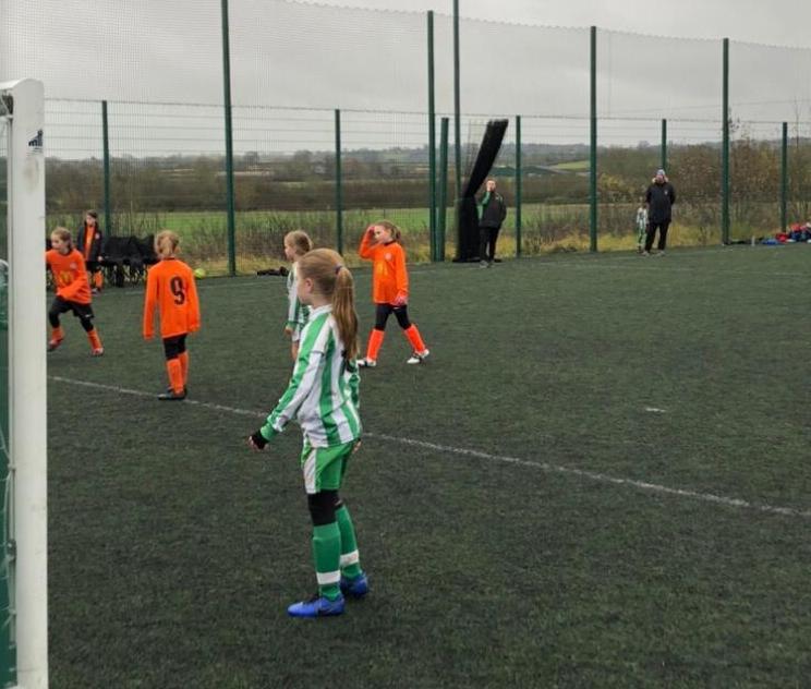 U9 Girls v Ambleside - Match photo 6