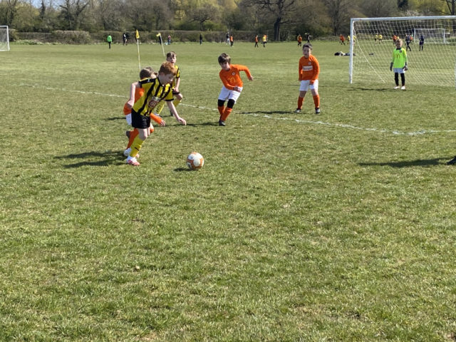 Leamington Brakes vs RBJFC U8 Eagles
