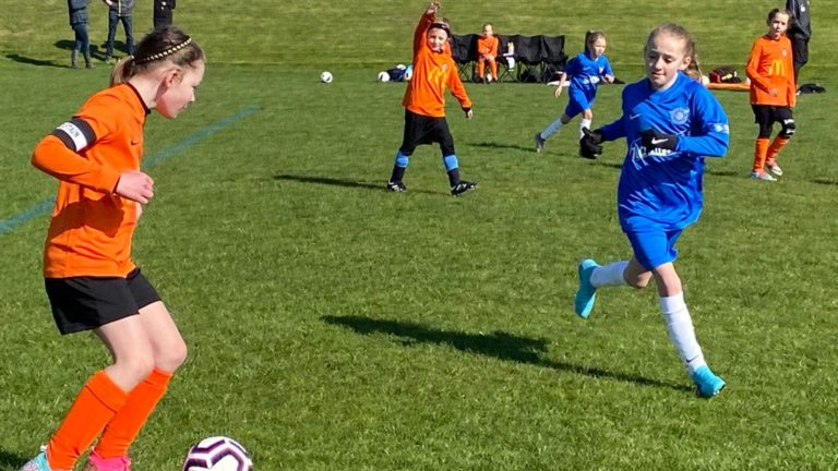 RBWGFC - U9 Girls v Blaby - Match photo - 11