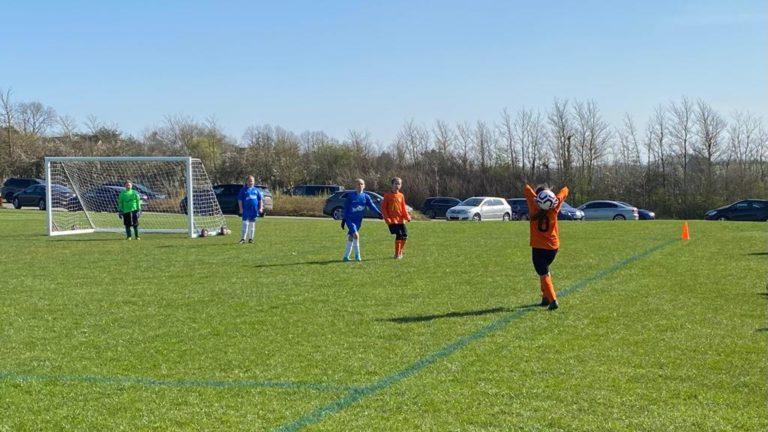 RBWGFC - U9 Girls v Blaby - Match photo - 13