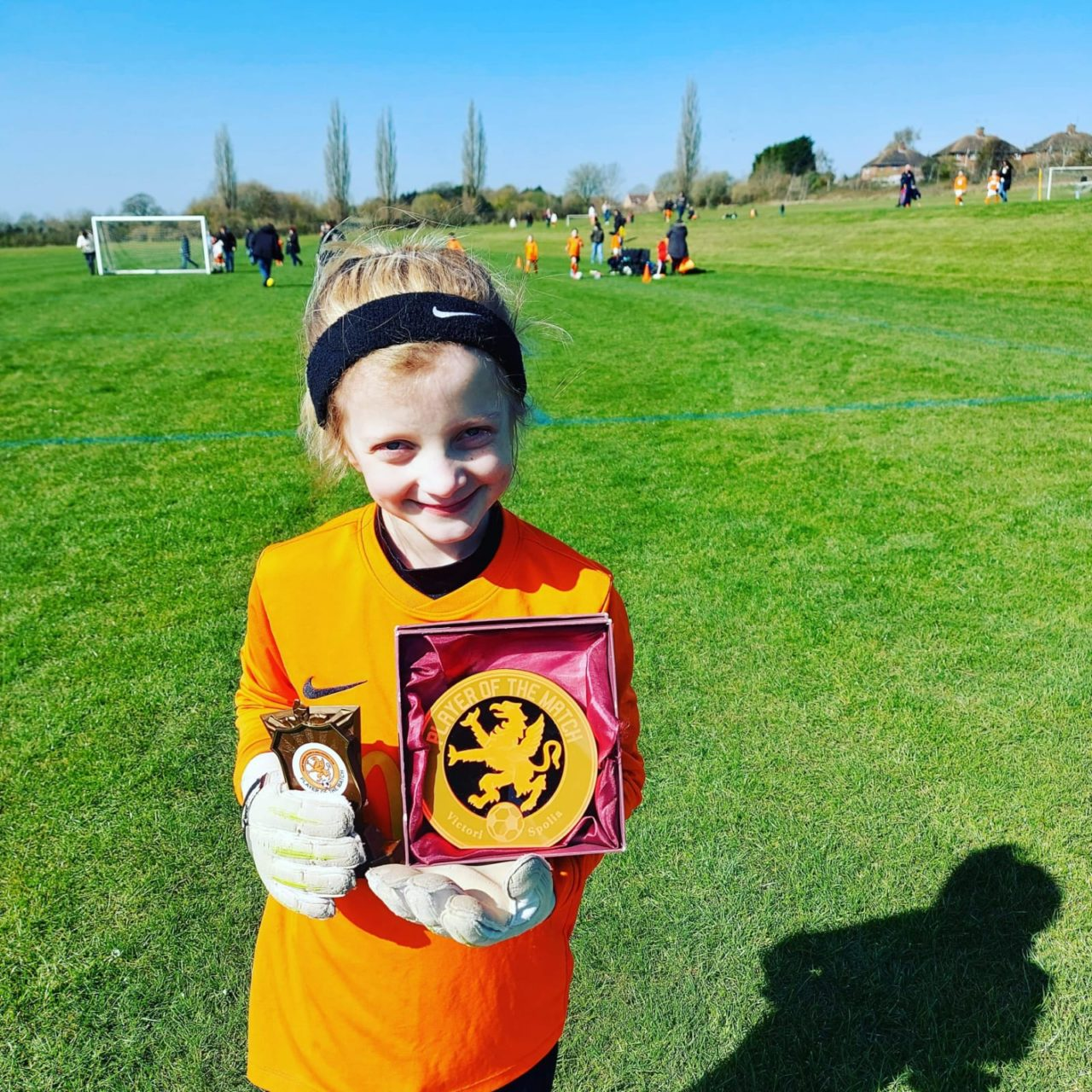 Under 9 girls back in action against Blaby & Whetstone | Rugby Borough FC