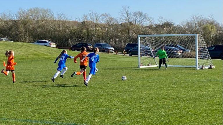RBWGFC - U9 Girls v Blaby - Match photo - 4