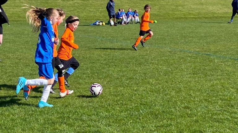 RBWGFC - U9 Girls v Blaby - Match photo - 9