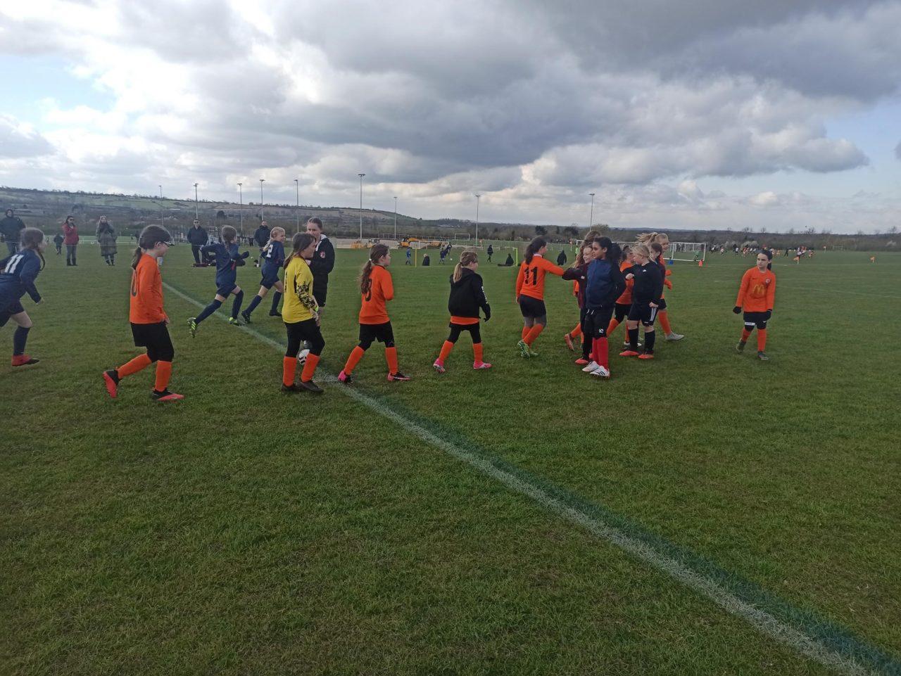 U10 Girls v Thurlaston | Rugby Borough FC