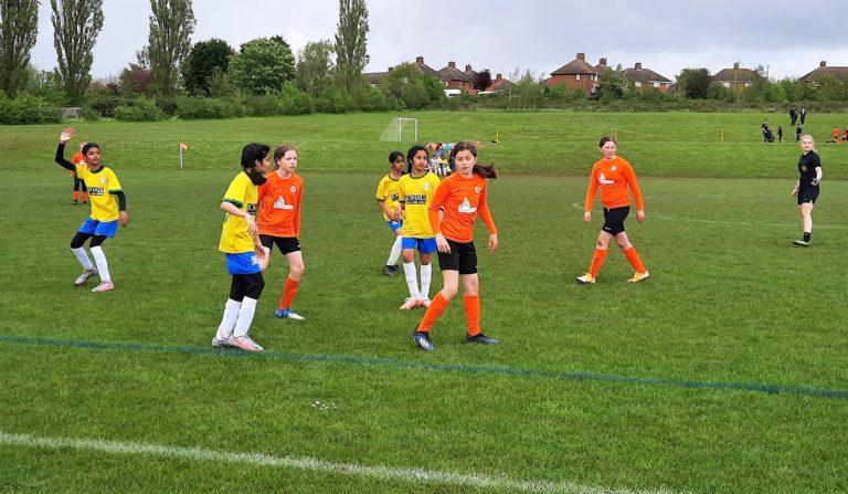 Rugby Borough Juniors Girls u12s vs GNG Juniors U12s