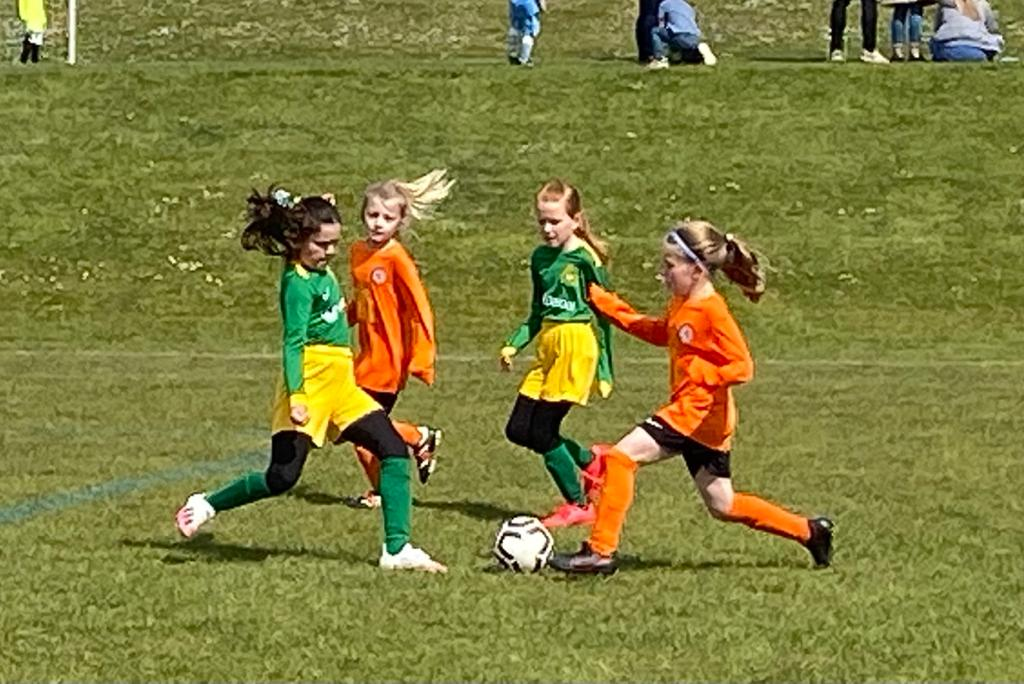 U10 Girls v Harborough Town | Rugby Borough FC