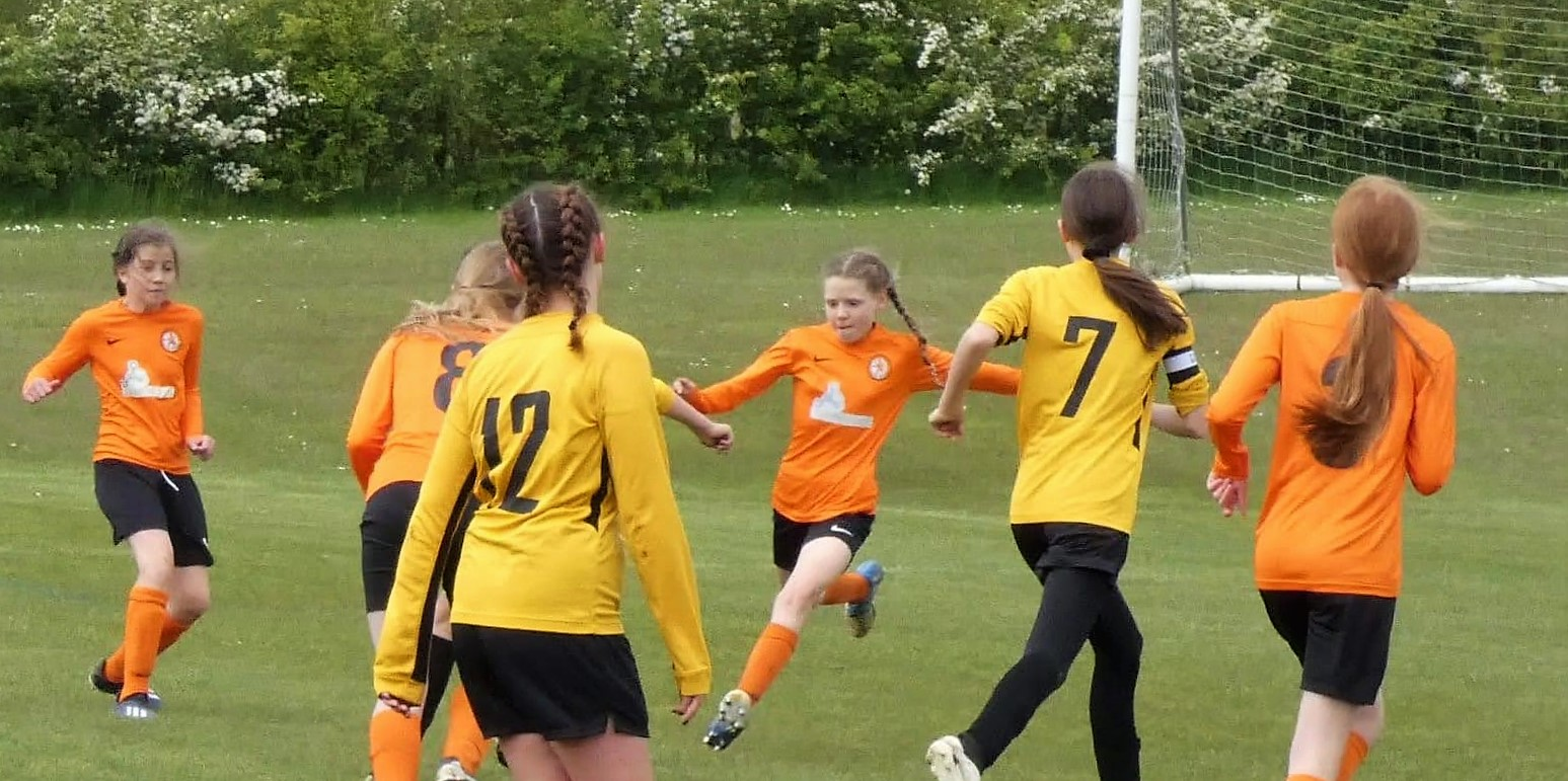 Rugby Borough Girls U12s vs East Goscote U12s
