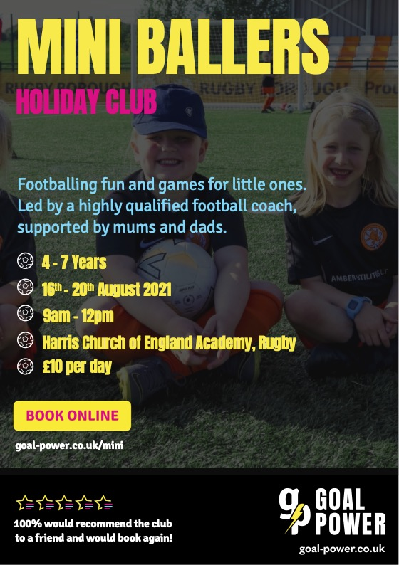 Calling all Wildcats - Mini Ballers holiday club | Rugby Borough FC