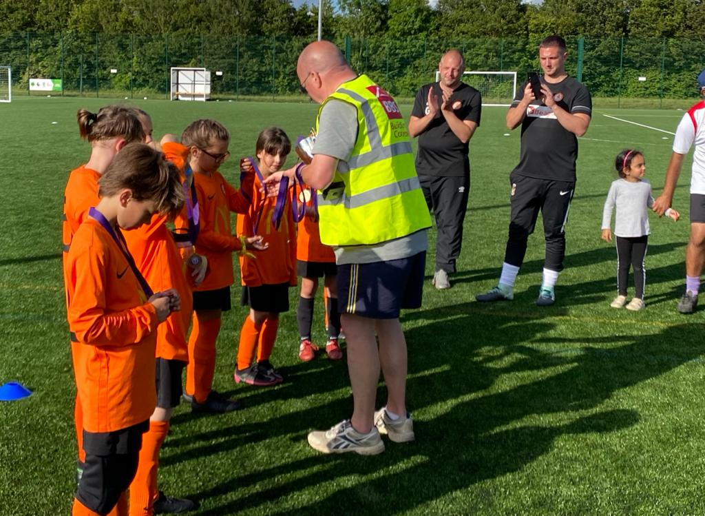 U9 runners up - medals 2