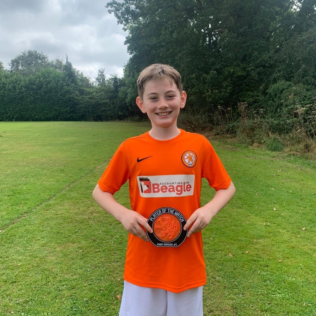 Rugby Borough FC U12 Panthers - Player of the Match
