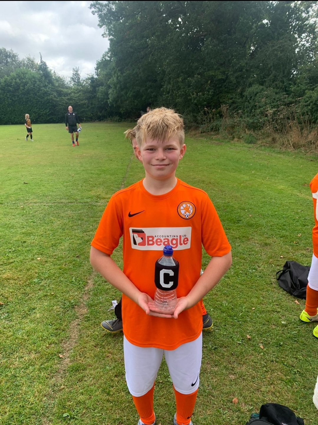 Rugby Borough FC U12 Panthers - Captain